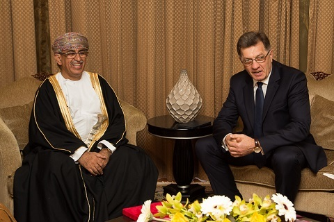 Lithuania Prime Minister in Oman