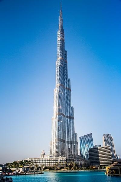 UAE landmark Burj Khalifa