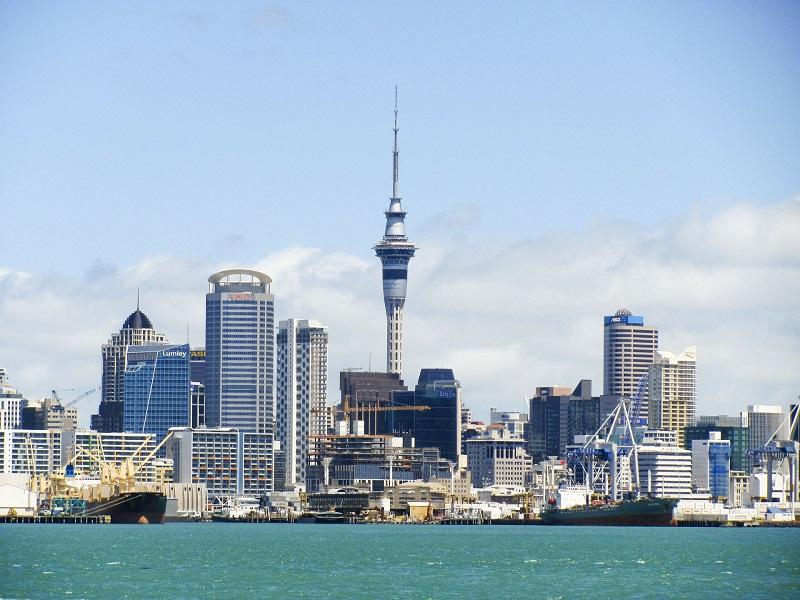 Auckland skyline, NZ