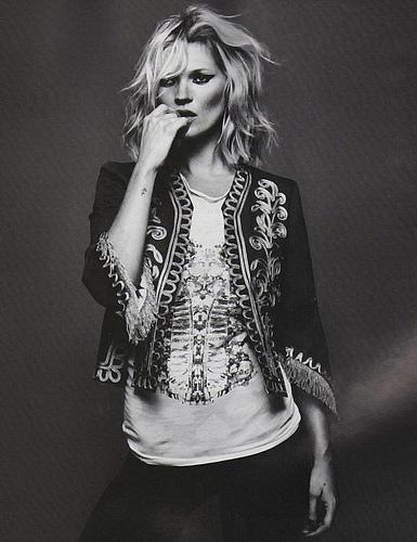 Kate Moss, English model