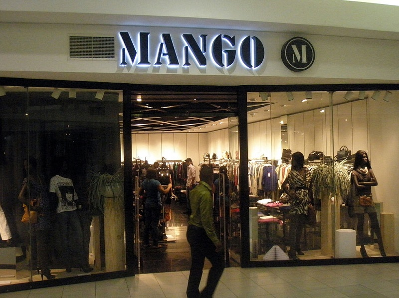 Mango fashion store in Nigeria