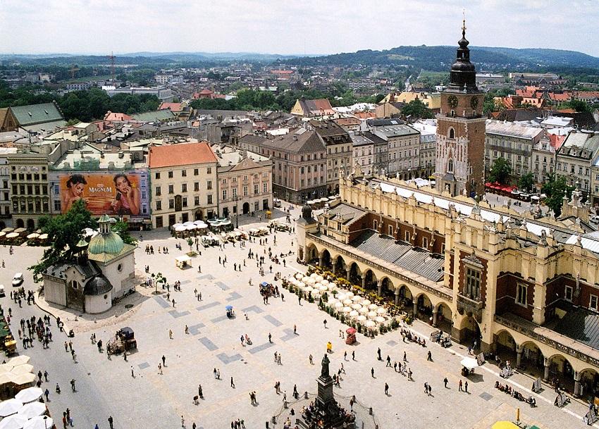 Krakow town Poland