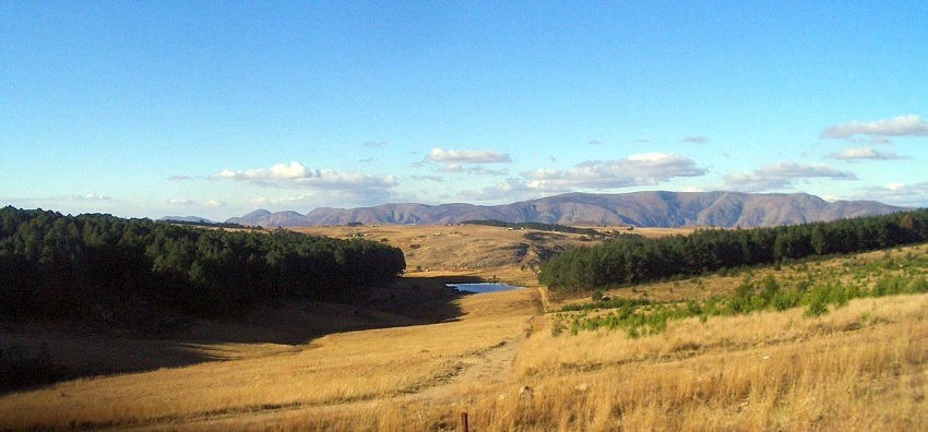 Landscape of Swaziland