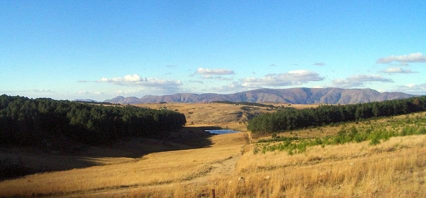 Landscape of Swaziland