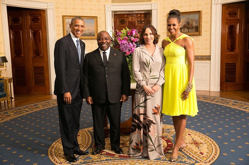 US President Barack Obama with His Excellency Ali Bongo Ondimba, President of the Gabonese Republic