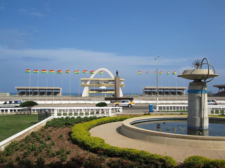 Accra, Ghana's top city