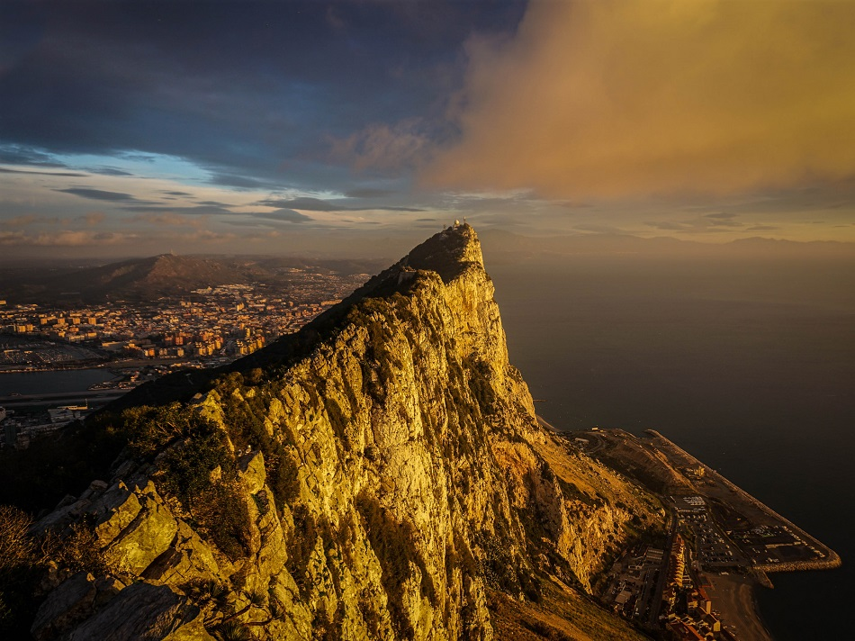Sunrise in Gibraltar