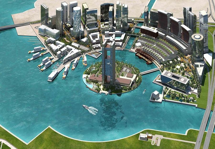 Illustration of Bahrain Bay