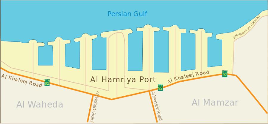 Al Hamriyah port