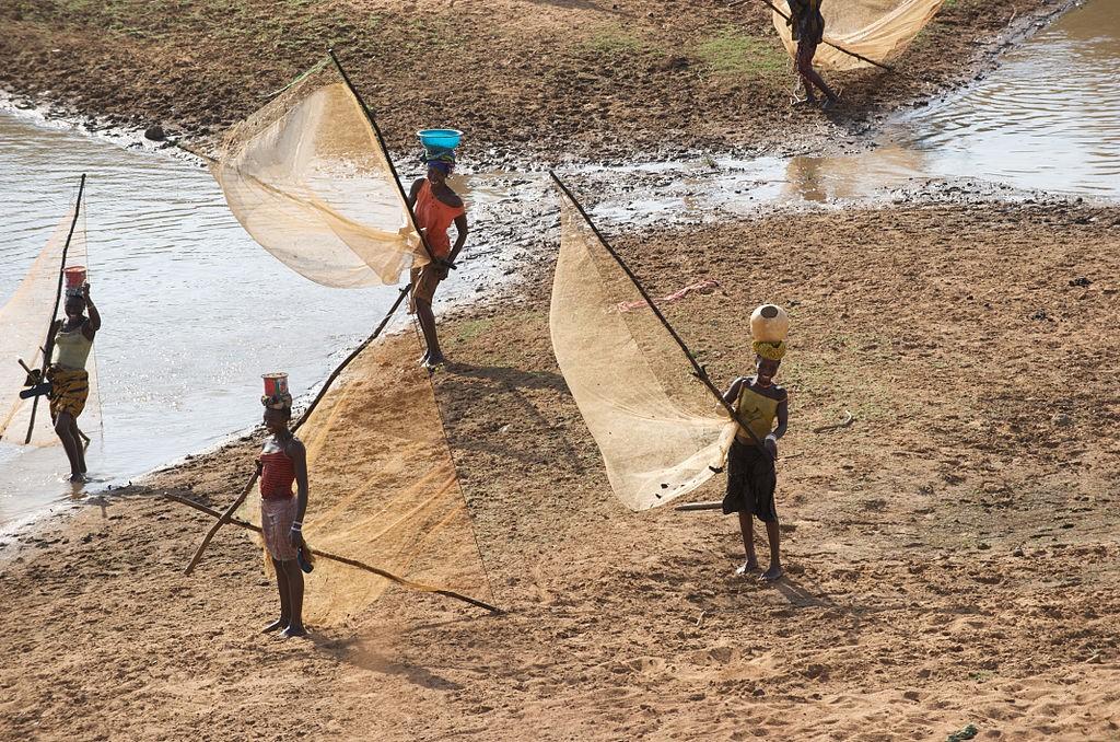 fishing in Guinea