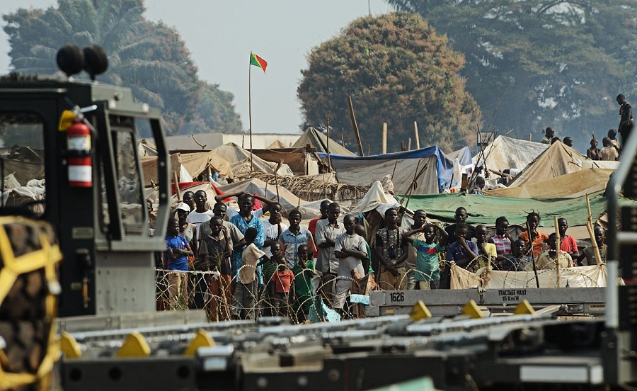 Refugees of the Central African Republic