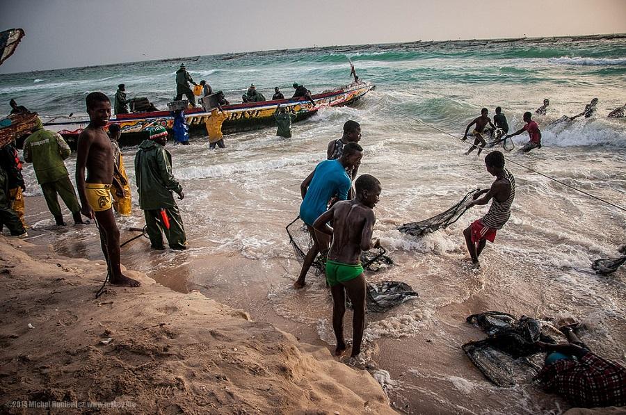 Mauritania Port de Peche
