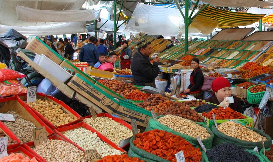 Osh Bazaar Kyrgyzstan