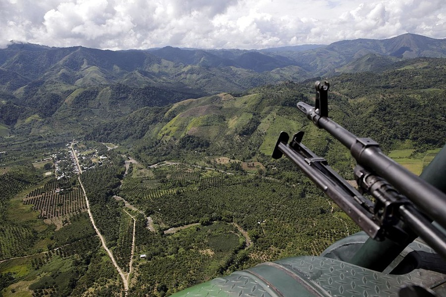 Cocaine valley in Peru