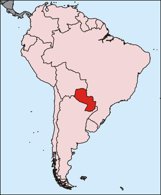 Paraguay in South America