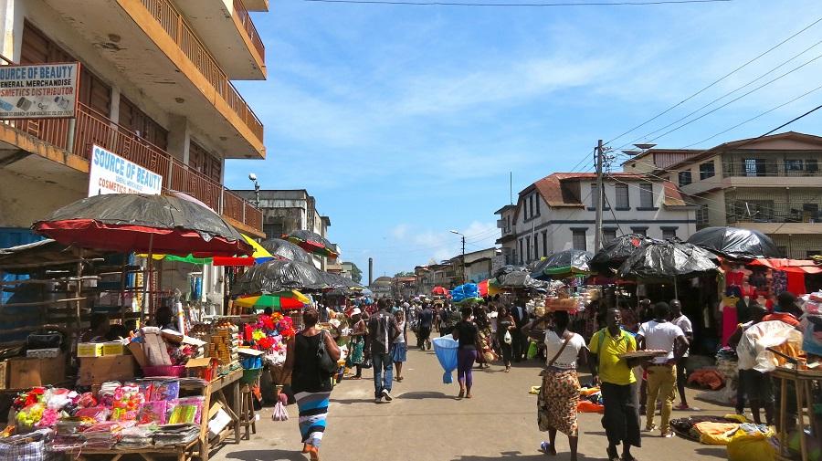 Freetown-street-Sierra-Leone