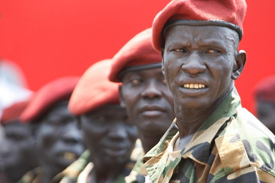 Military Men of South Sudan