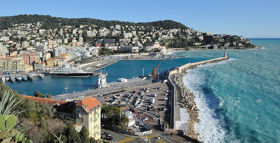 Nice Harbour, France