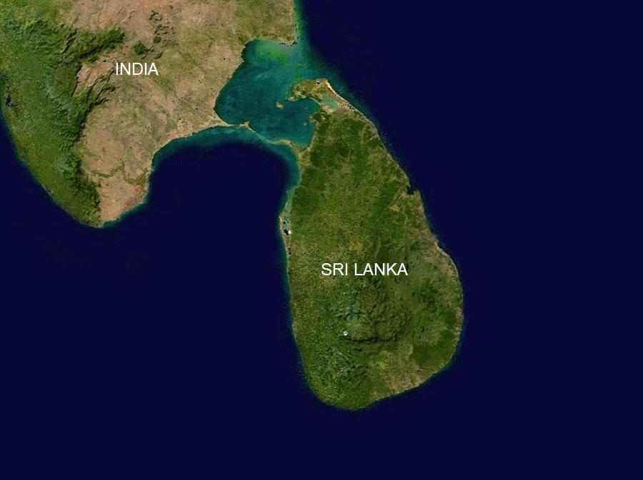 India Sri Lanka borders