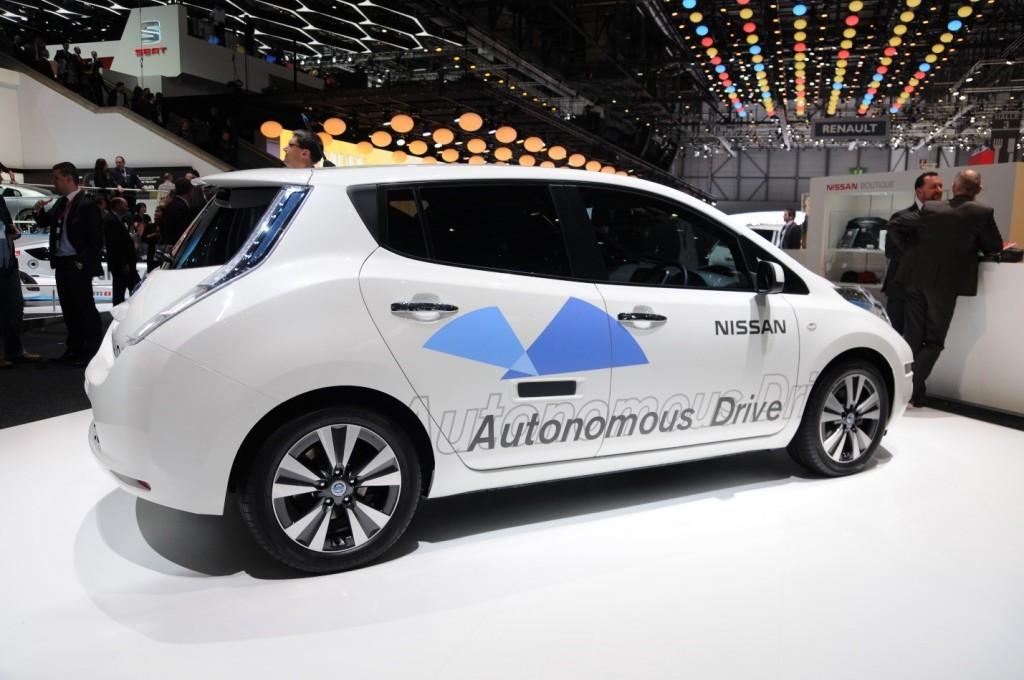 Nissan autonomous car prototype