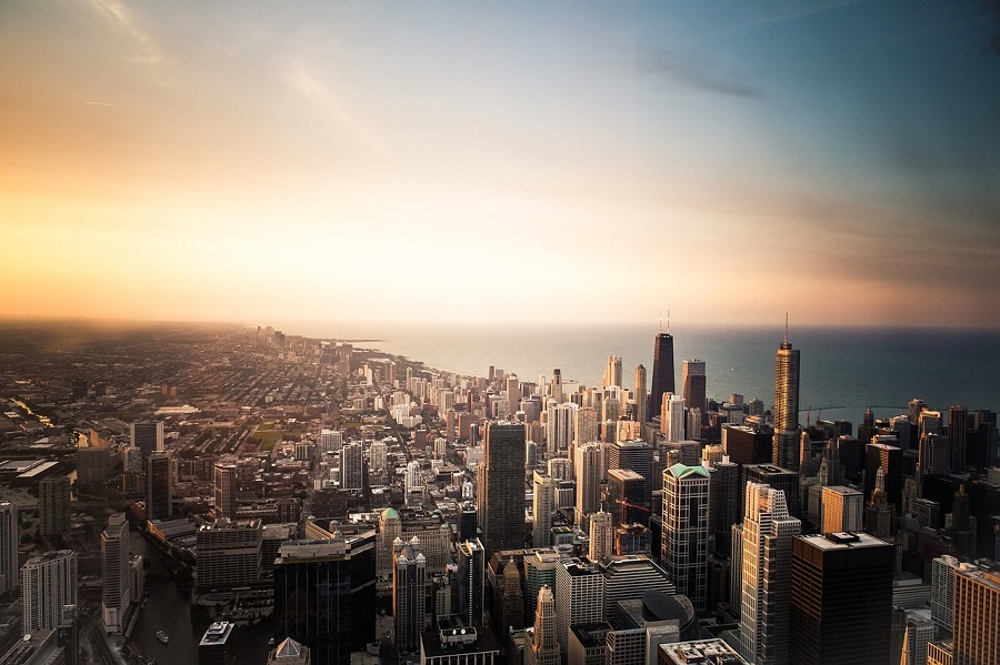 Tall buildings of Chicago